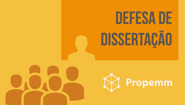 Defesa de Dissertação